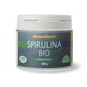 Spirulina Bio (300 g, 1200 tablet) - doplněk stravy