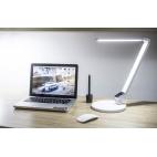 Stolní lampa Carmen NASLI, bílá, 9 W, LED