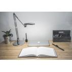 Stolní lampa Keiko NASLI, stříbrná, 7W, LED