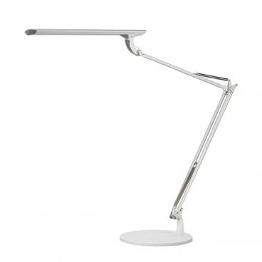 Stolní lampa Tamie NASLI s podstavcem, bílá, 12W, LED