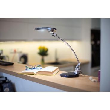 Stolní lampa Ayako NASLI, modrá, 7W, LED