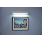 NASLI Stella Fix 600 LED 21 W, nástěnné svítidlo, elox