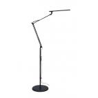 Stojanová lampa Tamie NASLI, černá, 12W, LED