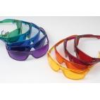 Set barevných brýlí - 9 ks