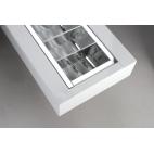 NASLI Festum 2x 54 W, stropní přisazené nebo závěsné svítidlo